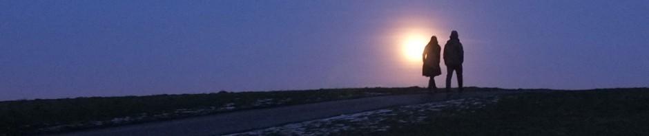 Hampstead Heath moonrise