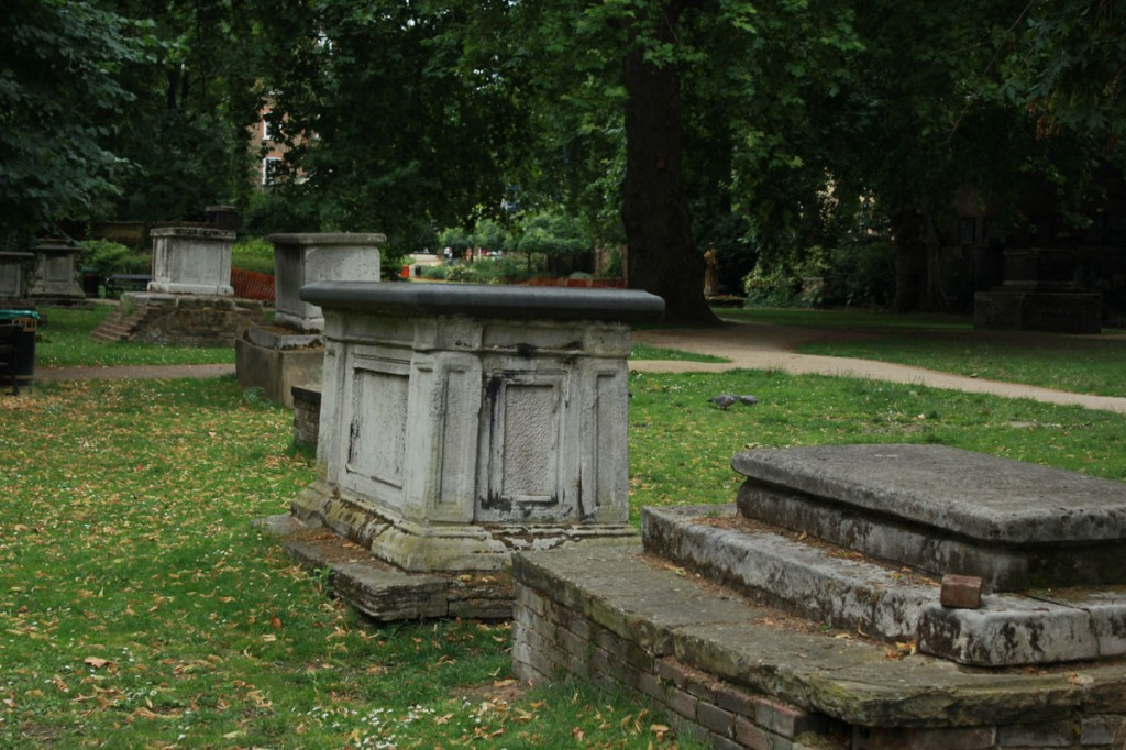 St. George's Garden graves