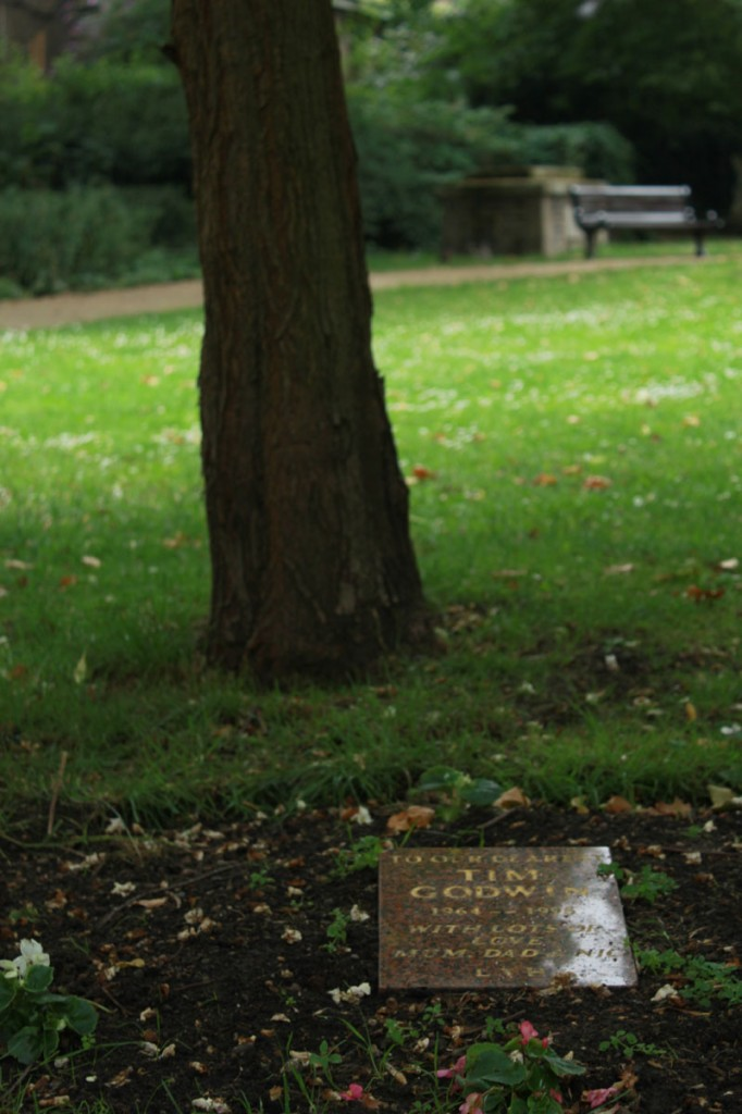 St. George's Garden dedicated tree