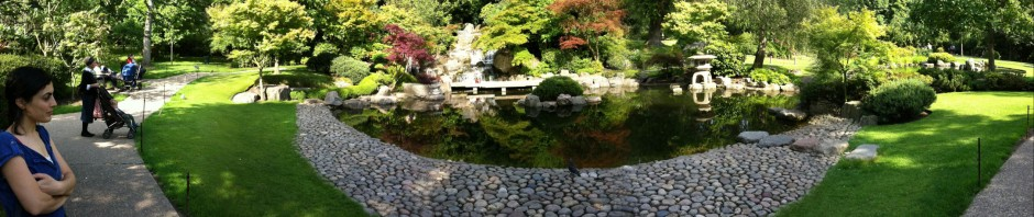 Panoramic view in Holland Park