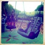 Finsbury Park, playground swing