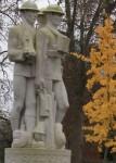 Battersea Park Soldiers Statue