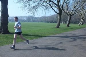 Victoria Park runner